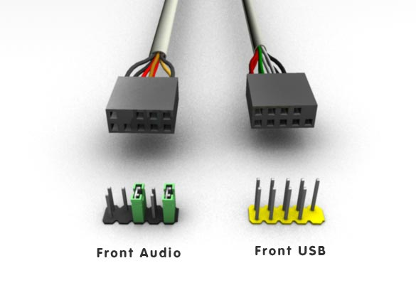 front panel audio usb