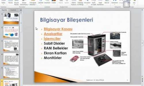 MİCROSOFT POWERPOİNT 2010 GÖRSEL VİDEO EĞİTİMİ-Sunu Hazırlama-3