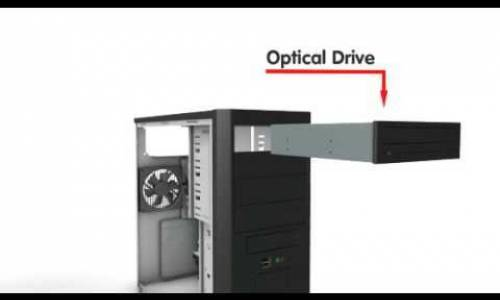 Build a PC - 7: Optical Drive (DVD)