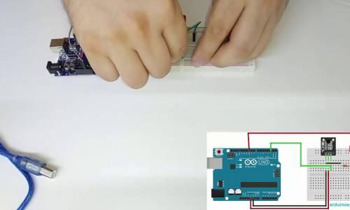 KY001 Sıcaklık Sensörü DS18B20 Modülü