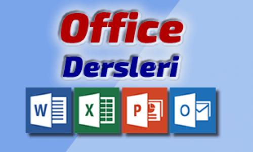 Microsoft Office dersleri