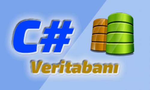 c# ve veritabanı database
